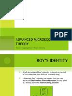 Aggregation Roys Identity