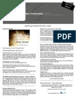 GCF's Grace News - April '11