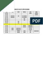 HORARIO DE CLASES 5TO AÑO SECUNDARIA - PAVLOV (1)