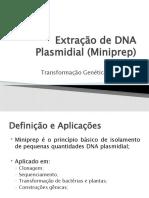 Extração de DNA Plasmidial
