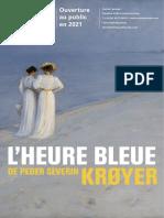 Exposition L'heure bleue de Peder Severin Krøyer au Musée Marmottan