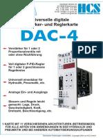 DAC-4 Verstäkerkarte Für Propventile