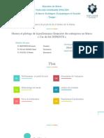 Mesure et pilotage de la performance financière des entreprises au Maroc « Cas de Sté DIPRINTS »