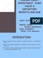 DEPOSITORY RECEIPTS