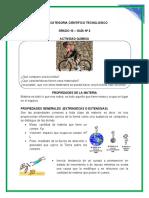 Proyecto interdisciplinar grado 5