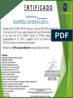 Certificado NR10 SEP - MAXWELL XAVIER