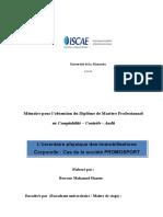 Inv Phy Des Ic ( Cas Promosport )