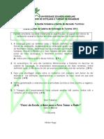 Exame Normal de Sociologia 2012-1