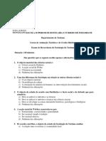 Exame de Recorrencia de Sociologia Do T 2017-1
