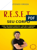 R.e.s.e.t Seu Corpo - eBook Oficial