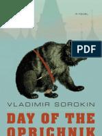 Day of the Oprichnik by Vladimir Sorokin (Excerpt)