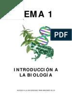 1. INTRODUCCIÓN A LA BIOLOGÍA