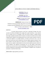 A VALORIZAÇÃO DA LÍNGUA CULTA COMO ASCENSÃO SOCIAL