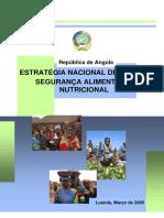 Angola Estrategia de Seguranca Alimentar