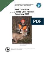 DEC 2010 deer season summary