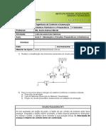 Aula 3 - Introdução a Circuitos Pneumáticos e Hidráulicos- Lista de Exercícios