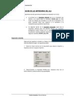 Manual de utilizacion de las impresoras del Ala