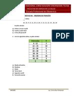 Práctica 05 - Medidas de Posicion