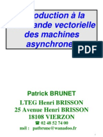 Commande Vectorielle des machines asynchrones