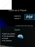 Lecture 7 Earth as a planet