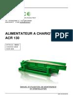 ALIMENTATEUR A CHARIOT ACR 130