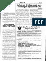 1995-09-09 - La Consejería de Cultura promete apoyo económico para el yacimiento de Orce