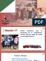 SESIÓN 17_DIDÁCTICA COMUNICACIÓN
