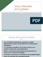 GURUS Y FILOSOFIAS DE CALIDAD