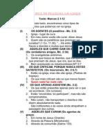 CINCO TIPOS DE PESSOAS NA IGREJA