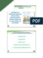 Panesso y Castillo. Sistema de responsabilidad penal para Adolescentes en Colombia