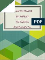 Livro a Importância Da Música No Ensino Fundamental