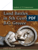 Land Battles 5th century greece