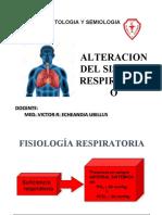 14.- Clase de alteracion de sistema respiratoria