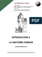 01 CLASE 1 INTRODUCCION A LA ANATOMIA HUMANA - CAET 2013