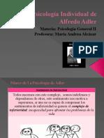 Psicología Individual de Alfredo Adler