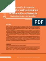 2. U1 Inv Doc Diseño Instruc Educ Distancia PDF