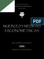 MUEBLES Y MEDIDAS ANTROPOMÉTRICAS