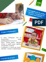 A (re)significação do ensinar e aprender