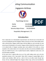 Marketing Communication - Singapore Airlines