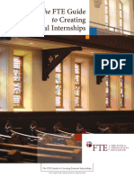 The FTE Guide to Creating Pastoral Internships