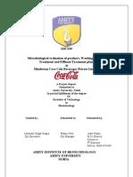 coke project report