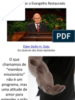 Compartilhar o Evangelho Restaurado