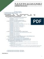 R. D. 429-1993 Reglamento Responsabilidad Patrimonial