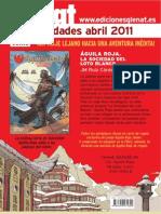 Novedades Glénat Abril 2011 (Castellano)