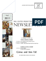 Hill Church Newsletter April 2011