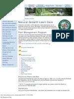 OshawaEnvironmentalFactorPest Management Plan