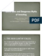 Hussman - Useful Laws of Investing