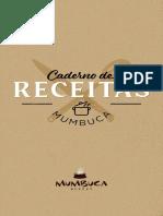 Caderno de Receitas Mumbuca - Oficial