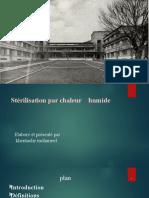 sterilisation humide