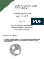 FEM 03 - Elemento TL1